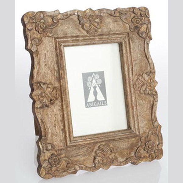 Abigails Rectangular Frame with Antiqued Natural Patina  @Demi Bredefeld Ryan #demiryanhome #shop #homedesignboutique www.demiryan.com