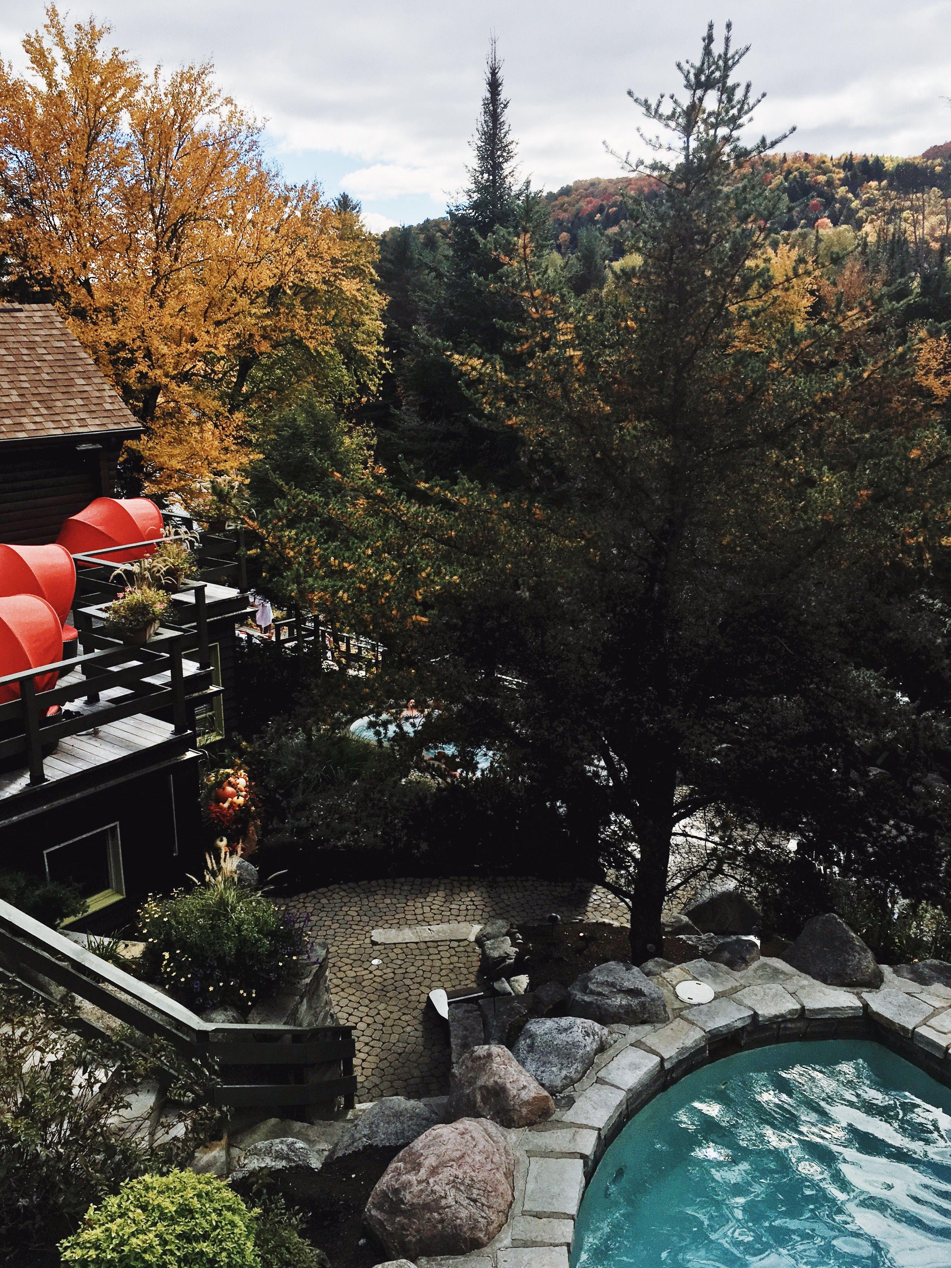 Scandinavian Spa Nordic Baths Mont Tremblant Thermal Pool Spa
