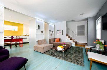 63rd Avenue Residence - modern - family room - dc metro - E/L STUDIO