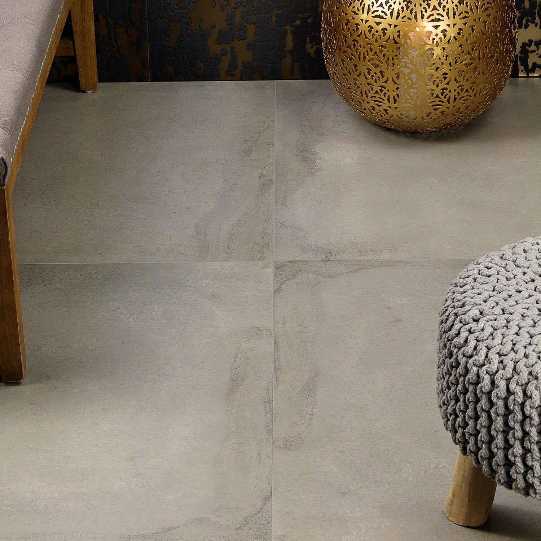 revel light gray 32x32 porcelain tile