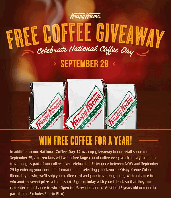 Krispy Kreme Deal! Coffee coupons, Discount coffee