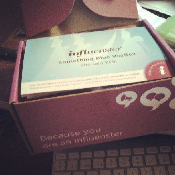 My #IDoVoxBox from Influenster.