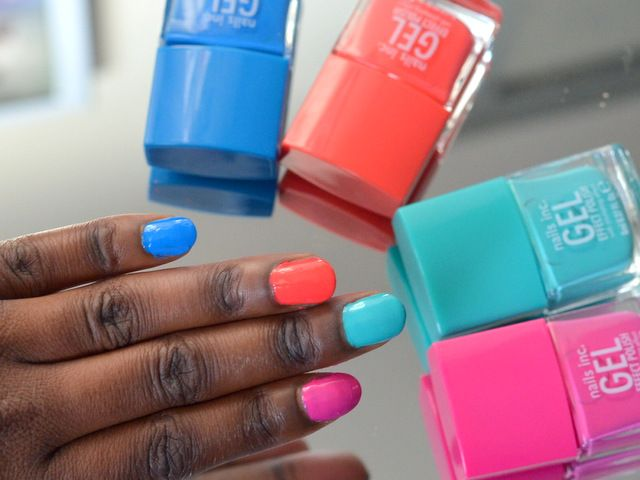 Summer Nail Colors For Dark Skin Lifestyles Ideas Summer Nails Colors New Nail Colors Nail Colors