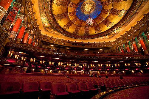 Resultado de imagen para Fox Theater, Detroit, EEUU