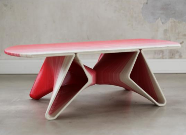 3ders.org   French Startup 3D Prints Your Furniture Using Large Scale 3D  Printer