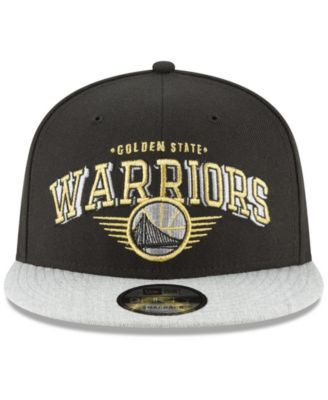 5a7c070fe3c New Era Golden State Warriors Gold Mark 9FIFTY Snapback Cap - Gray  Adjustable