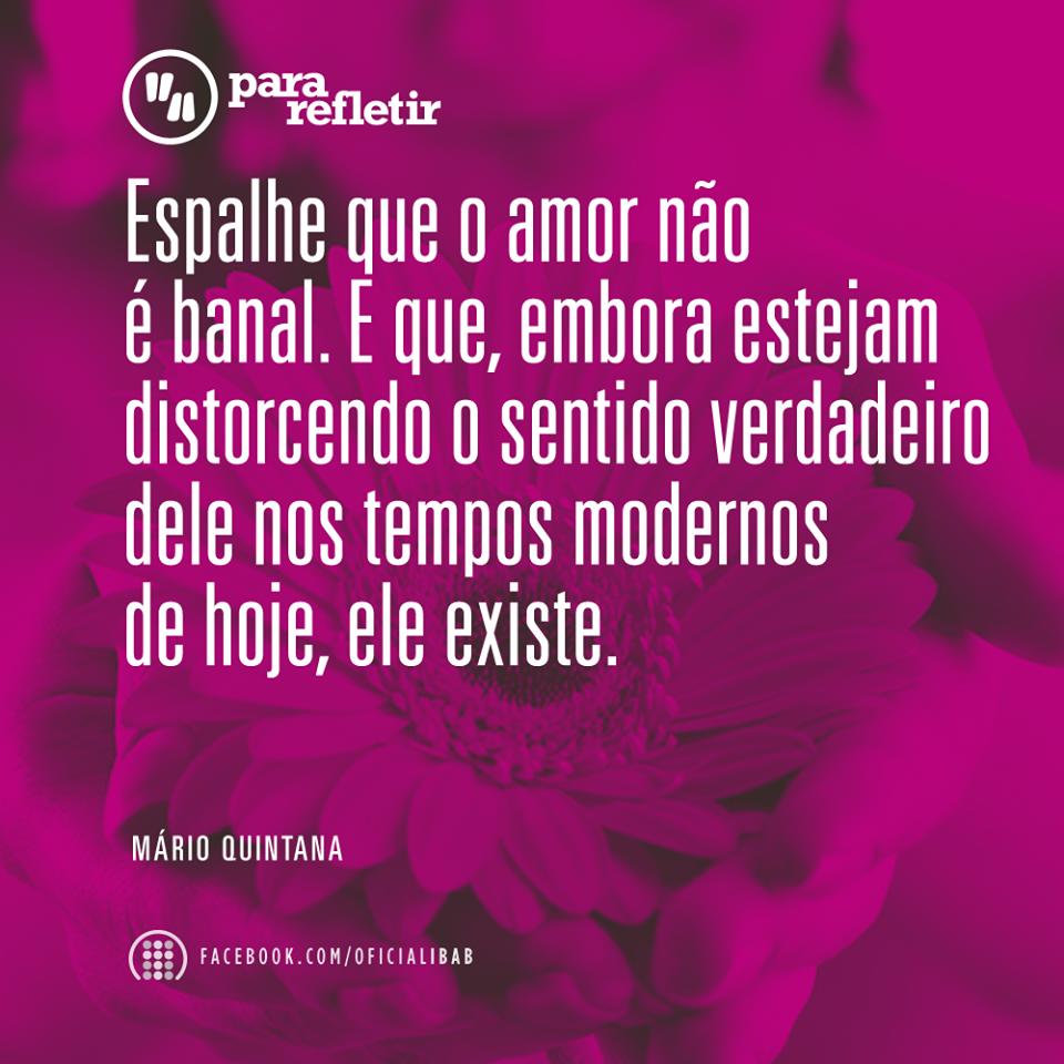 O amor não é banal!!!