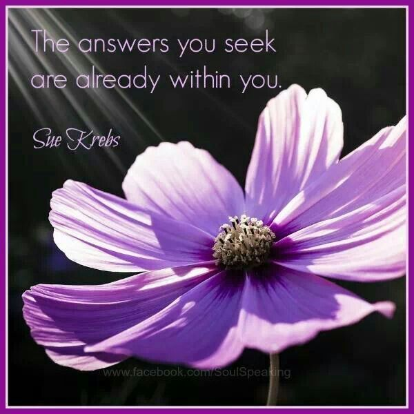 Answers you seek