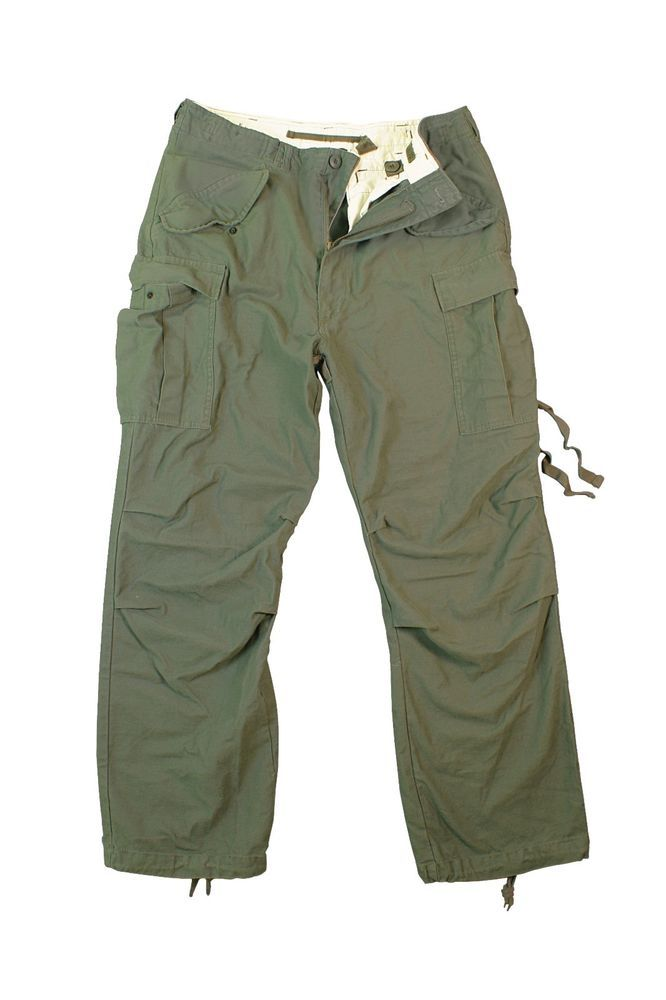 42e4bbef7ee Rothco 2601 Olive Drab Vintage Military M-65 Field Tactical Fatigue Pants   Rothco  M65