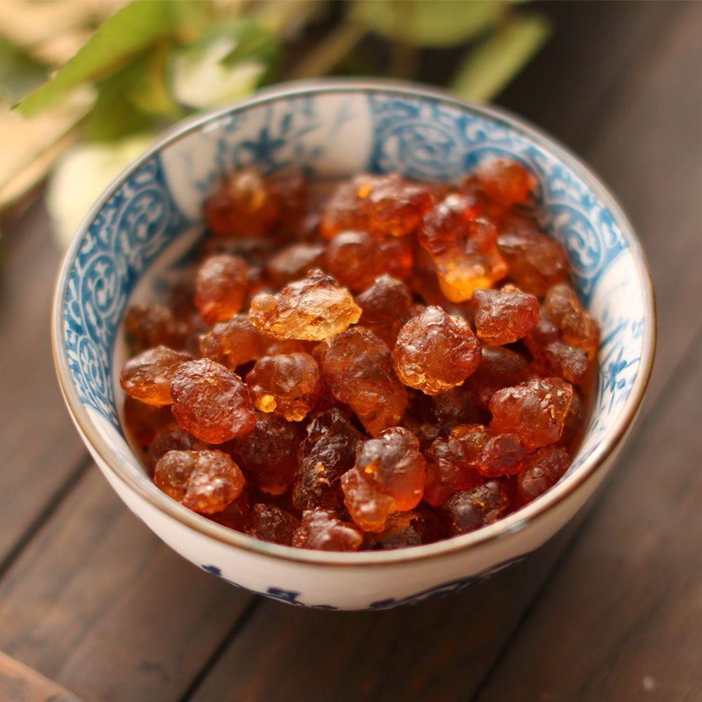 Details about wild natural nourishing tao jiao peach resin