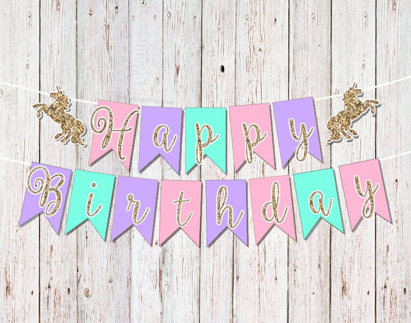 Featured Etsy Products Birthday Party Ideas For Kids Unicorn Party Decorations Unicorn Party Unicorn Birthday Parties