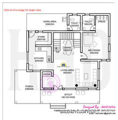 178 square yards house elevation and plan