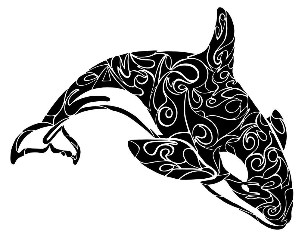 4e78b9761 Tribal Orca by Dessins-Fantastiques on DeviantArt | Ink | Orca ...