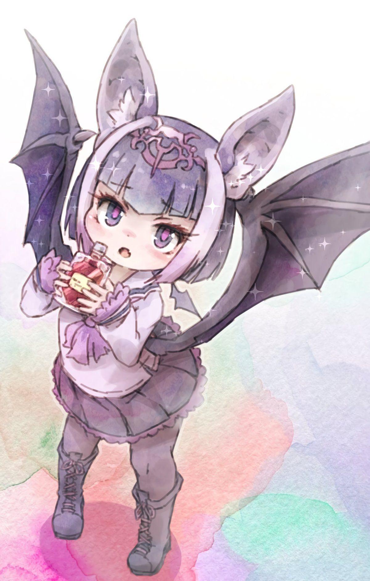 Kemono Friends Common Vampire Bat By Kolshica In 2020 Kemono