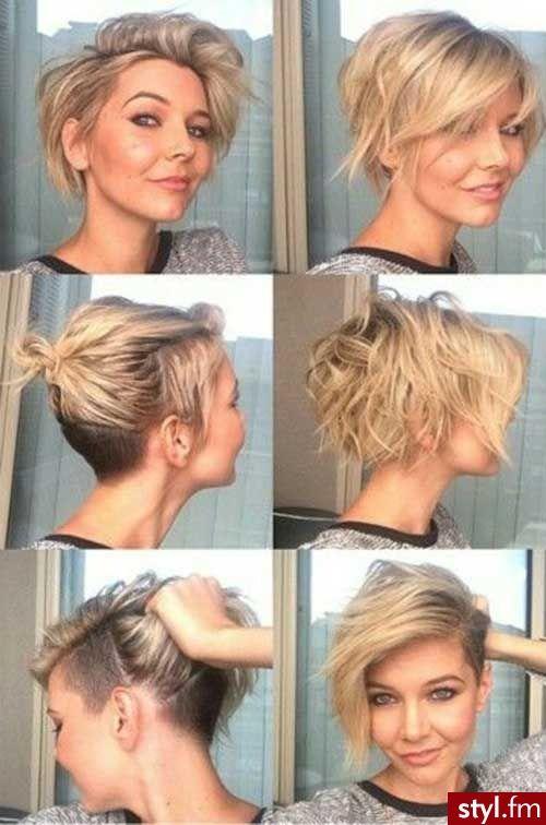 Krótkie Fryzury Fajne Fryzury Krótkie Włosy Włosy I