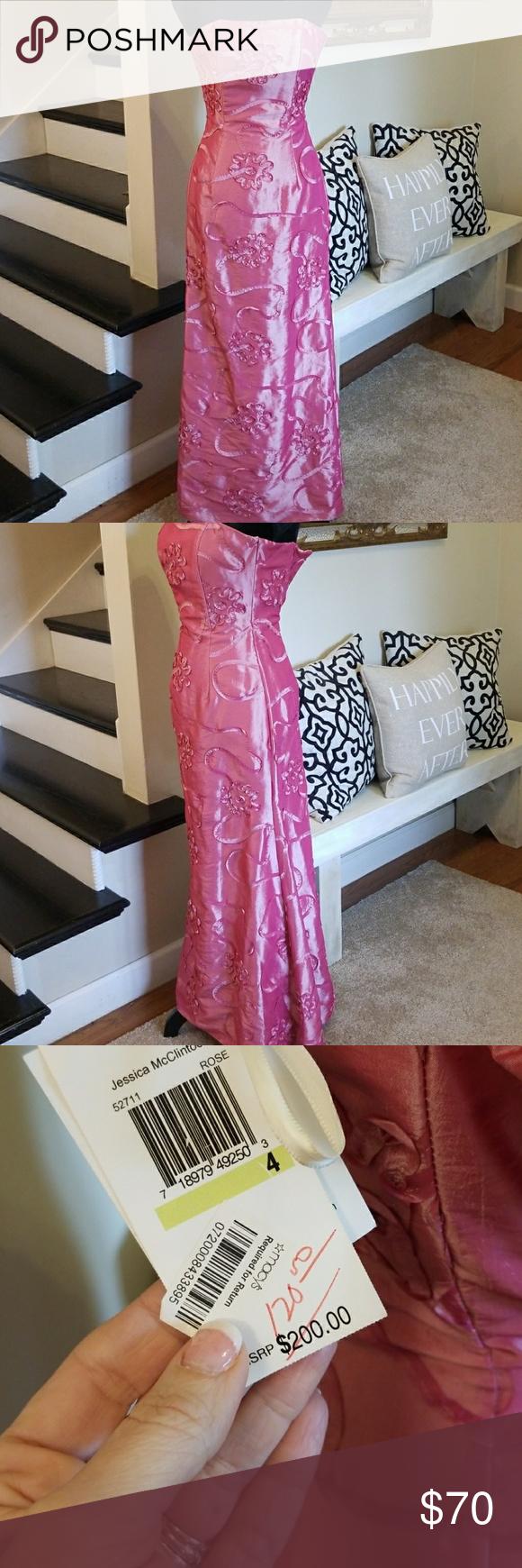 Jessica McClintock Prom Formal Dress NWT