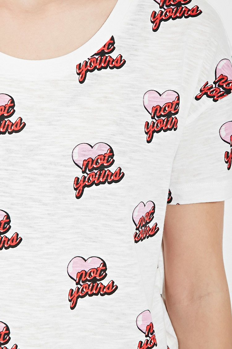 Not Yours Graphic Tee