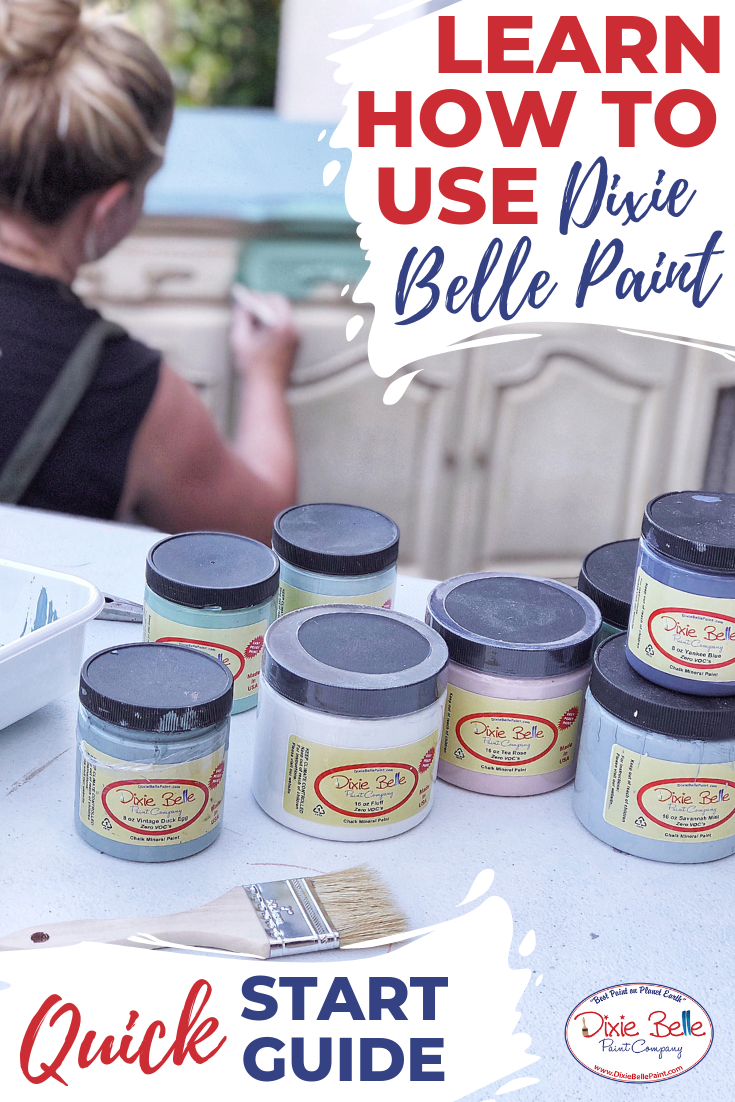 How to Get Started with Dixie Belle Paint - Dixie belle paint, Paint furniture, Furniture makeover diy, Chalk paint furniture, Paint companies, Diy furniture - So, you've just got your new Dixie Belle Paint products and you're wondering how to Read More