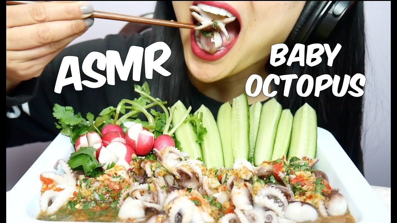 Asmr Whole Baby Octopus Eating Sounds No Talking Sas Asmr Octopus Eating Eat Baby Octopus • 1,5 млн просмотров 4 месяца назад. no talking sas asmr octopus eating