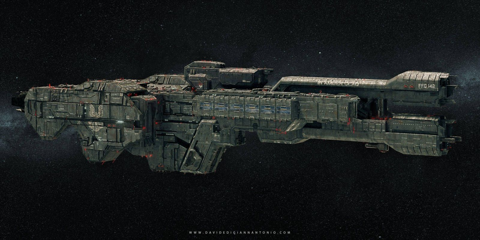 In Amber Clad 4 by lordsme (With images) Halo ships