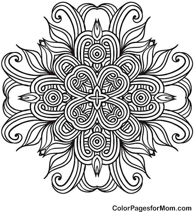 mandala 41 coloring page colorpagesformom color mandala coloring pages adult coloring. Black Bedroom Furniture Sets. Home Design Ideas