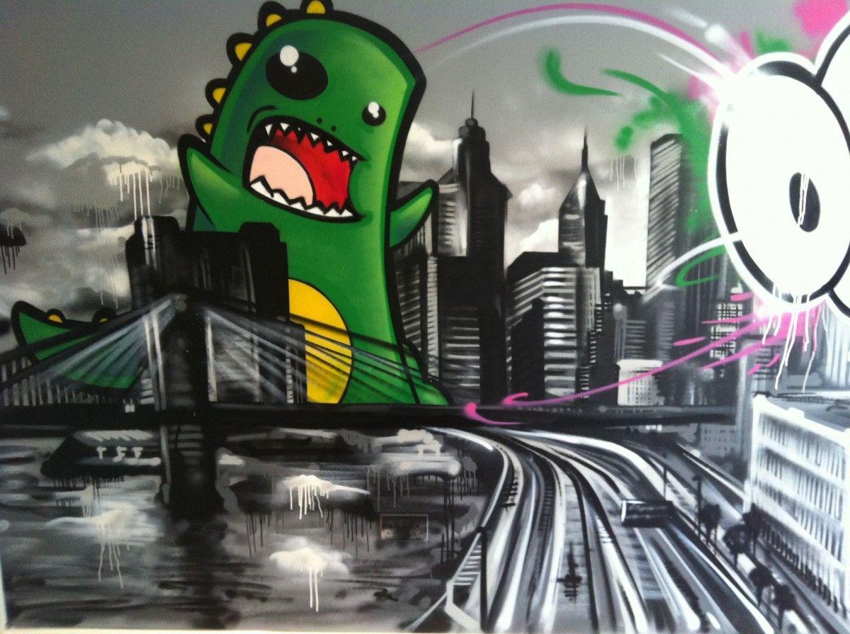 Graffiti Bedroom Art For Sale | Hire A Graffiti Artist | Graffiti Artists  For Hire |