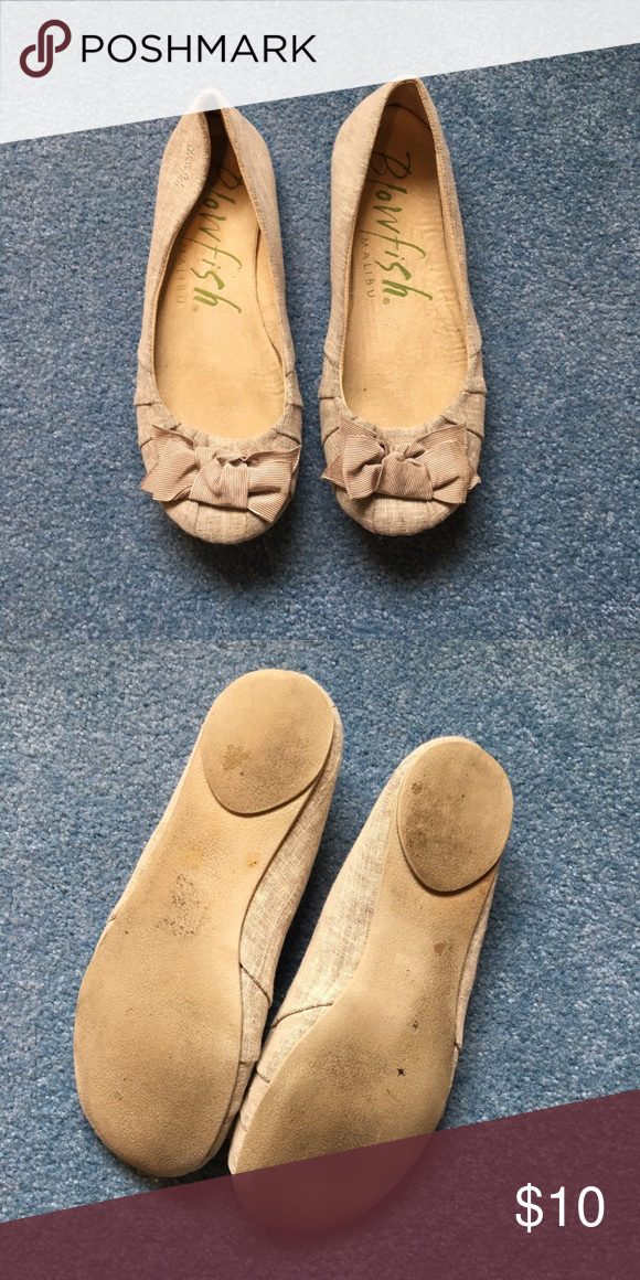 008072c2c Blowfish Bow Flats Slightly worn, practical flats Blowfish Shoes Flats &  Loafers