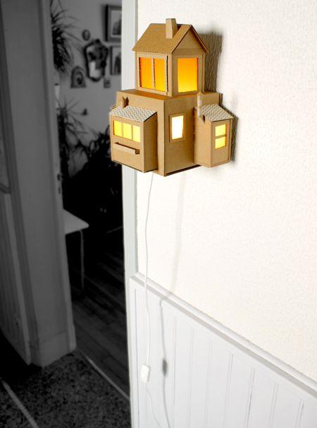 Je crée des maisons en carton depuis quelques temps, je me suis - creer une maison en 3d
