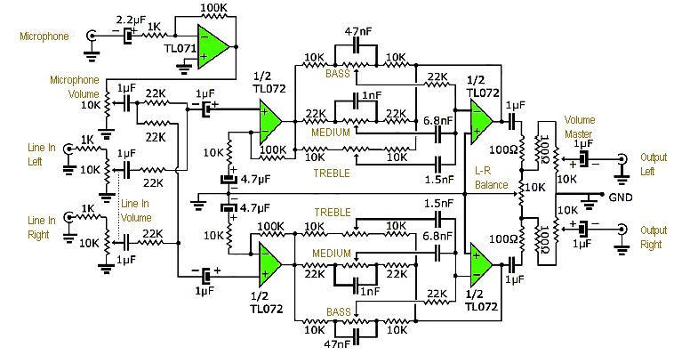 Moduler Preamplifier Circuit Diagram Eeweb Community - Wiring ... on