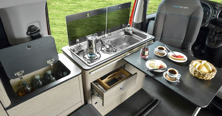 citroen spacetourer rip curl all wheel drive camper with a shower and a kitchen 1. Black Bedroom Furniture Sets. Home Design Ideas