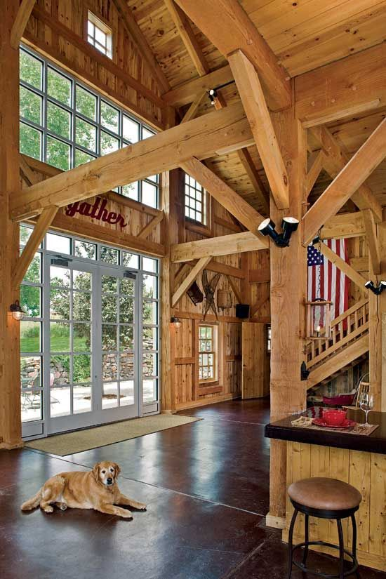Rustic Timber Frame Home Dream Home 1 Timbe