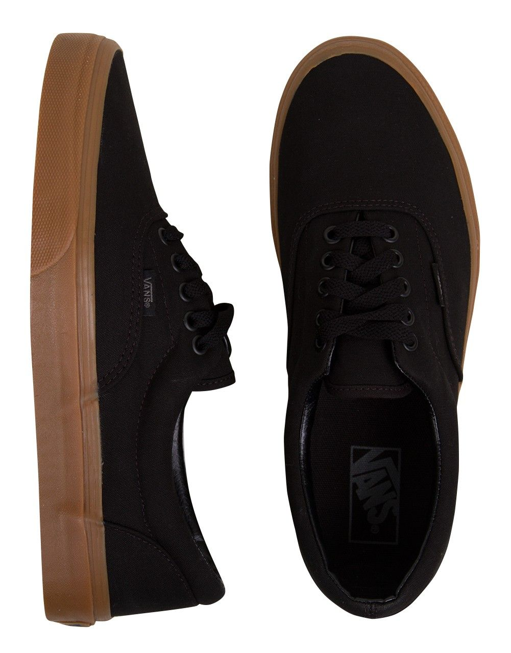 24b711507c Vans Era Shoes - Black Classic Gum
