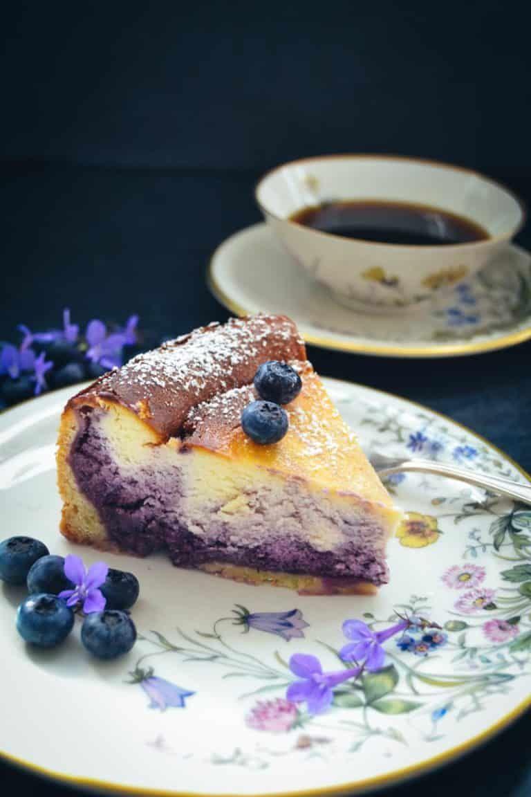 Photo of Blueberry Cheesecake – Quark Cake Recipe