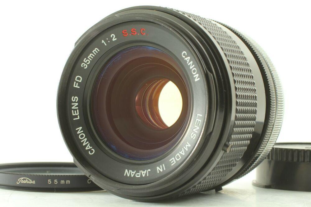 Mint Rare O Lens Canon Fd 35mm F 2 S S C Mf Wide Angle Lens From Japan 150 Ebay Wide Angle Lens Wide Angle Canon Lens