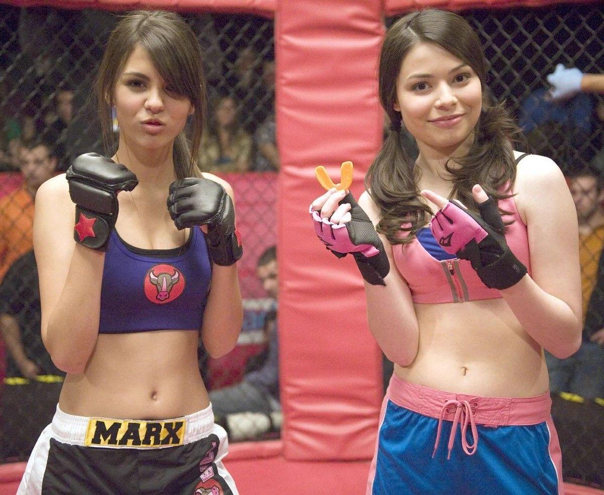 Icarly Victoria Justice Hollywood Girls Miranda Cosgrove