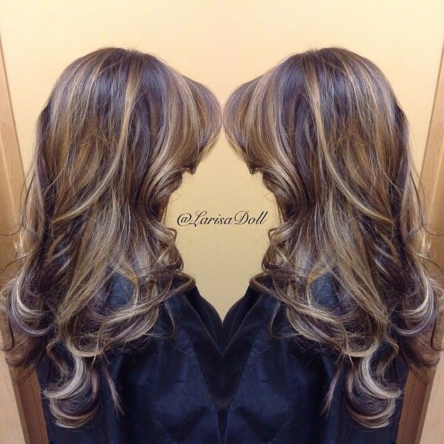 Tips On Blending Great Colors With Beige: #ShareIG (No Filter) Dramatic Balayage Blend Between Both