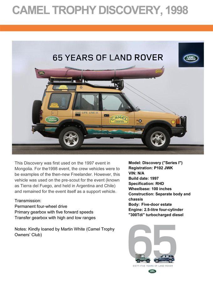 pin von miguel auf camel trophy | pinterest | land rover discovery