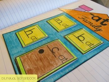 Happy Family {Word Families Interactive Notebook} | Word ...