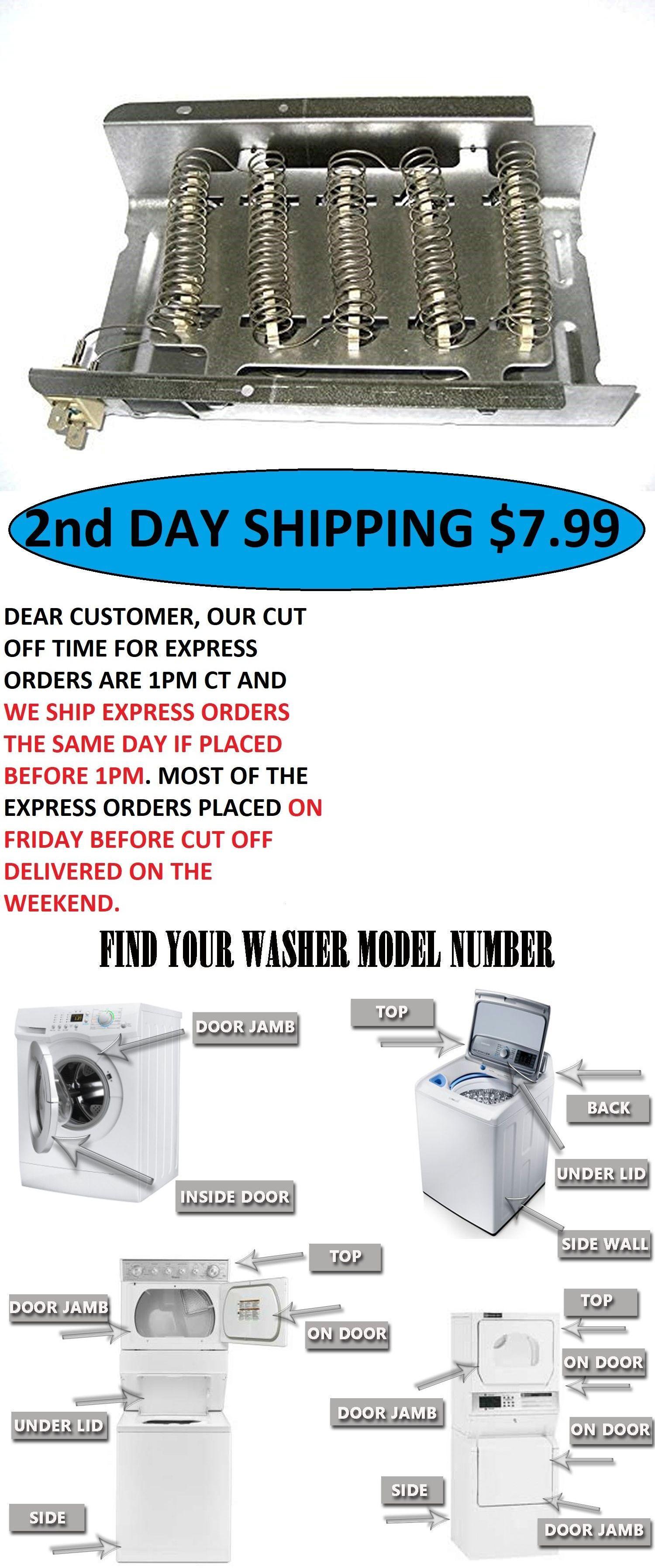 Whirlpool Kenmore Dryer Heating Element P N 279838 Ap3094254