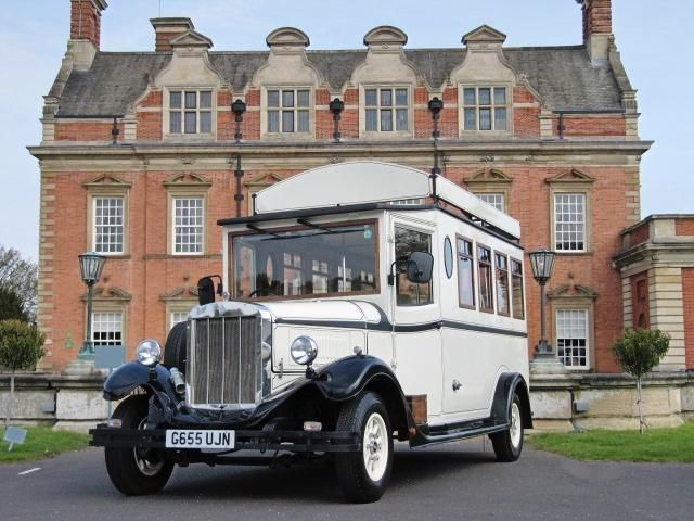 Check Out This Classic Ford Asquith Mascot Vintage Wedding Bus