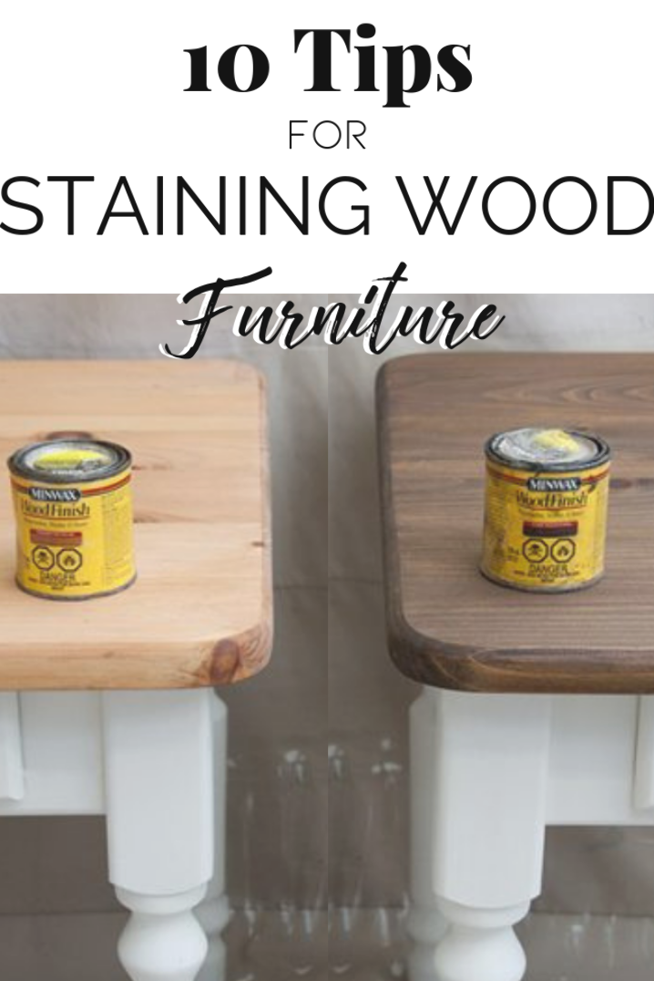 10 Tips for Staining Wood Funiture | Add Drama To Your Painted Furniture | Salvaged Inspirations #siblog #salvaged #furnituremakeover #refurbishedfurniture #paintinginspo #salvagedinspirations #furniturerescue #vintage #DIY
