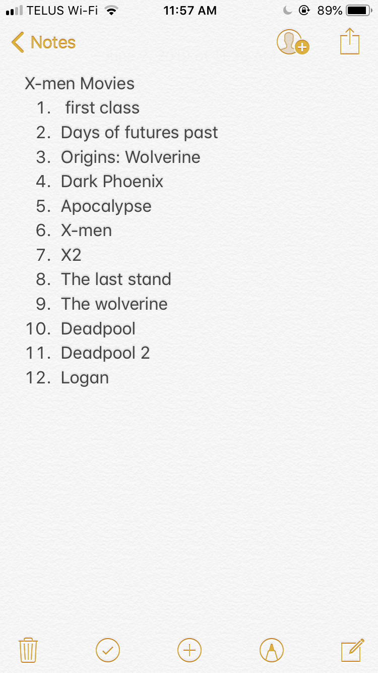 X Men Movies In Chronological Order Marvel Movies In Order Xmen Movie Best Marvel Movies