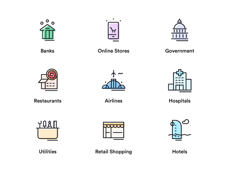 Sector Icons Business Icon Icon Web Icons