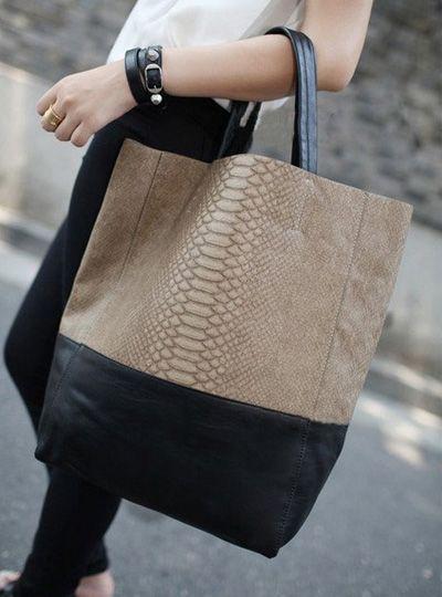 2013 women's handbag fashion brief patchwork bucket big bags shoulder bag picture women's bag  D0617 $55.05