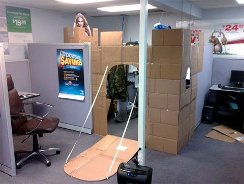cool office cubicles. Funny Pictures About The Proper Way To Decorate A Cubicle. Oh, And Cool Pics Also, Office Cubicles
