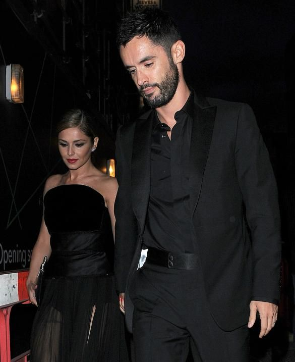 Cheryl Cole Wedding Hairstyle: Cheryl Cole Stuns In Black As Guests Attend 'Second
