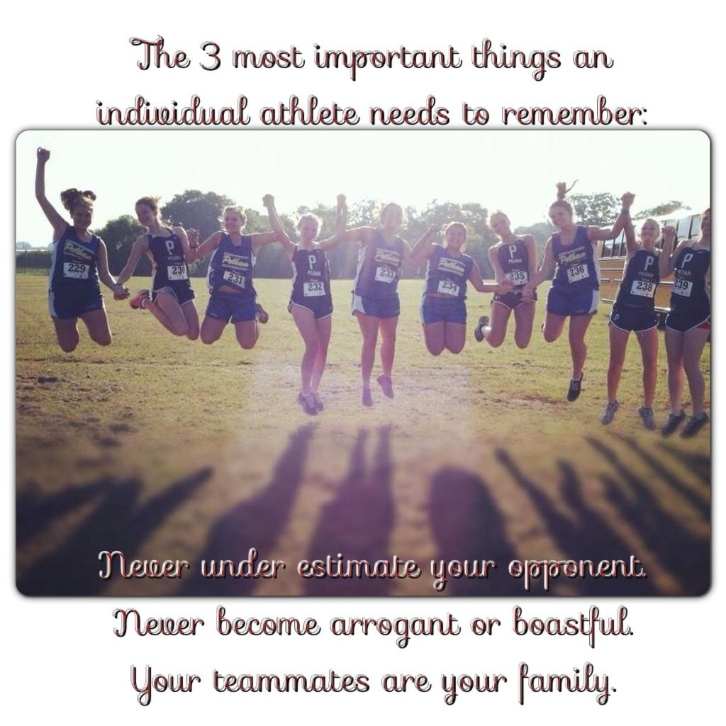 Running scrapbook ideas - Running Cross Country Team Work 3 Rules To Remember