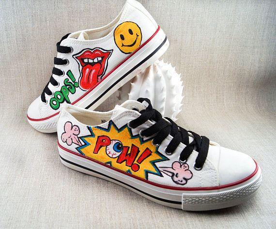 converse femme chaussure pop