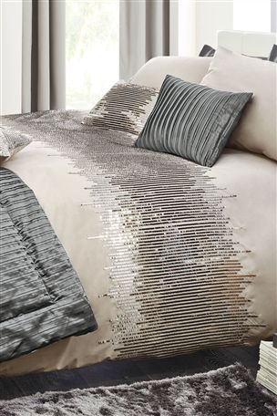 buy silver ombre sequin bed set from the next uk online shop rh pinterest com