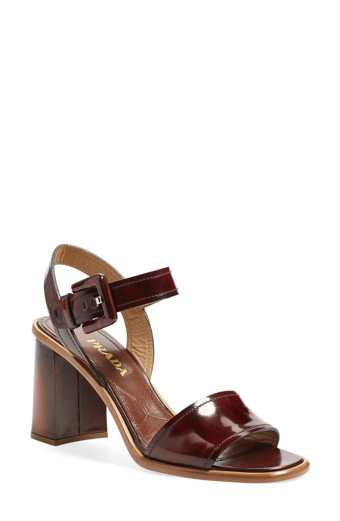 2f40398dff56 Prada  Donna  Ankle Strap Sandal (Women)